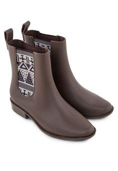 MEL Big Plum Chelsea Boots Big Plum短靴