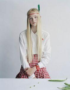 Tim Walker Photography Jean Campbell, London, 2013 British Vogue