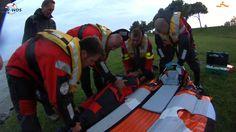 Medische evacuatie vanaf Lekerstrandje