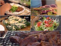 Hier is al vanaand se Kom Ons Braai: familie en vriende-resepte! Feta, Dinner, Ethnic Recipes, Dining, Food Dinners
