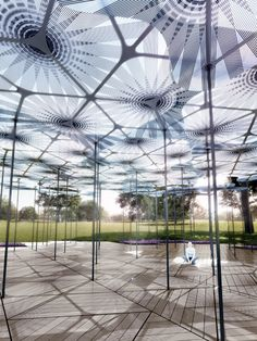 British architect Amanda Levete will attempt to recreate the experience of being in a forest with this year's MPavilion – the annual project billed as Australia's answer to the Serpentine Gallery Pavilion