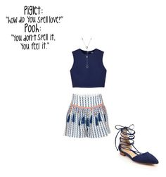 """""""i kinda like this"""" by erobarge ❤ liked on Polyvore featuring Alphamoment, Alice + Olivia, Schutz and Tiffany & Co."""