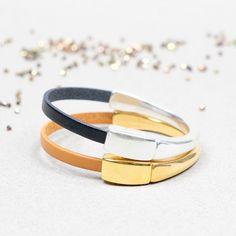 Bracelets, Bangles, Bracelet Cuir, Bijoux Diy, Leather, Jewelry, Bead, Jewellery Making, Arm Bracelets