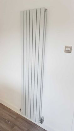 Vertical-Designer-Radiator-Tall-Flat-Panel-Column-Central-Heating-Radiators for BTU Tall Radiators, Flat Panel Radiators, Vertical Radiators, Lounge Decor, Lounge Ideas, Wall Gas Fires, Kitchen Radiator, Central Heating Radiators, Kitchen Diner Extension