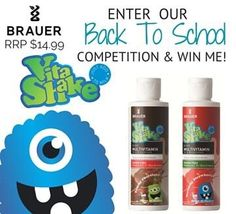 Enter our Back to School competition & #win. #competition #healthykids #brauerbaby #healthylifestyle