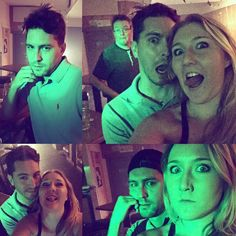 Getting ready for Halloween (or maybe just going crazy?!)   #sillyfaces #halloweenantics #greenlight  #creepers