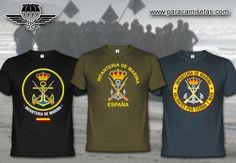 Infantería de Marina. Armada Española. Camisetas Militares. www.paracamisetas.com