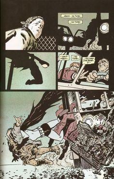 David Mazzucchelli on Batman Year One in 1986. Amazing page.