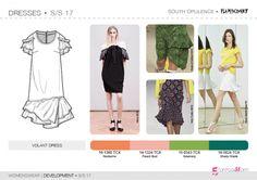 SS17    Женская одежда    Разработка    Платья