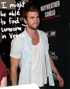 Liam Hemsworth was spotted in Vegas after Miley Cyrus stopped following him on Twitter!