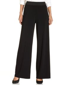 Image result for wide leg palazzo pants black