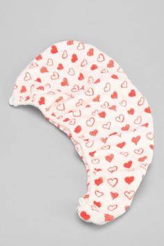 Girlfriend Hearts Microfiber Hair Turban Towel