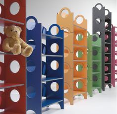 Children's Furniture : Groovy Bench / BookShelf by Country Living