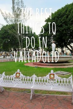 Traveling to the colourful and charming city of Valladolid, Mexico? Check out my guide for the best things to do in Valladolid!