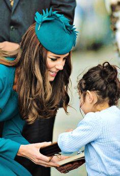 Catherine, Duchess of Cambridge in New Zealand, April 2014 #katemiddleton