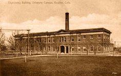 Engineering Building, University of Colorado (1920) - REPRODUCTIONS