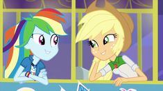 AppleDash Applejack Rainbow   Dash