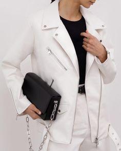 #jacket #whitejacket #bikerjacket #outerwear #springouterwear #spring2021 #women'souterwear #casualouterwear #womensjacket #everydaystyle #casualstyle #outfits #ecoleatherjacket #streetstyle #fashionstyle #lichibrand #lichishop #lichiouterwear Online Fashion Stores, Straight Leg Pants, High Waist Jeans, Vegan Leather, Winter Fashion, Leather Pants, Fashion Outfits, Biker Jackets, Daily Outfit
