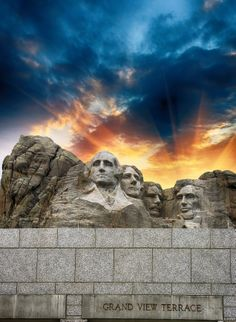 Mount Rushmore in South Dakota, is an iconic American tourist destination. Would it be a part of your #dreamroadtrip?