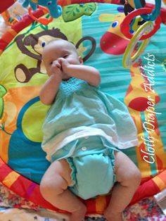 Daily Cute Fluffy Bum - AMP - Cloth Diaper Addicts @AMP Diapers #clothdiapers