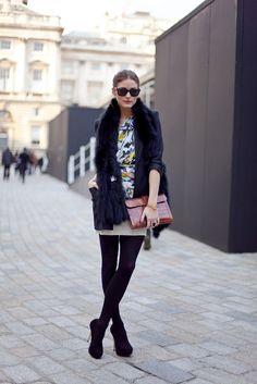 Olivia Palermo, street style.