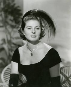 Ingrid in a still for Indiscreet (1958).