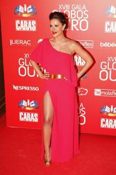 Dânia Neto @Mica Segal Oliveira_ Portugal Formal Wear, Formal Dresses, Pink Dress, Dress To Impress, Red Carpet, Ideias Fashion, Actresses, How To Wear, Chimera