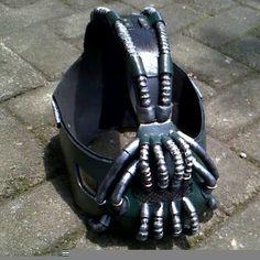 Batman |  bane | villain | head mask | costume | face | arkham city