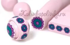 HandMadera: Polymer clay beads tutorial