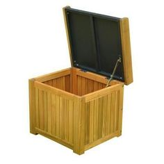 Cubi Wooden Storage With Seat
