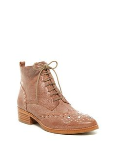 Donald J Pliner Nickki Wingtip Ankle Boot - on #sale 70% off @ #NordstromRack  #DonaldJPliner