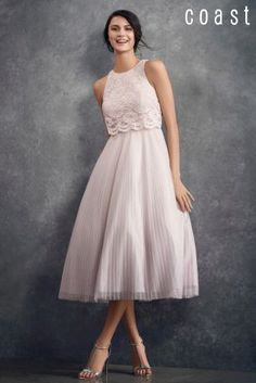 Buy Coast Pink Astoria Lace Dress from the Next UK online shop