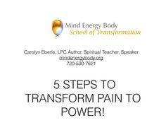 Transform Pain to Power-5 Steps movie