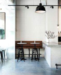 Scandinavian Inspired Minimalist Restaurant Decor