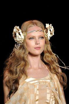 Frida Gustavsson, Anna Sui S/S 2011, New York Fashion Week