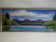 Paisaje. Óleo pintado en 2010.