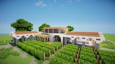 Meditteranean WineStore Welcome to Grapes, a winestore built by BadlifeIndustries  Includes: Store Bathroom Employee Meeting Rooms/Offices Outdoor Pool Pool Facilities Sitting Area Outdoor B…