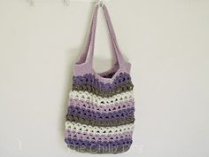 Fast Crochet Pattern: Stash Buster Market or Beach Tote
