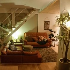 … Couch, Living Room, Interior, Plants, Furniture, Home Decor, Ideas, Settee, Decoration Home