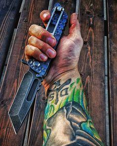 #dskstyle #dsk #dsktactical #tacticalknife #handmade #grailknives #grail…