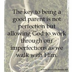 Perfection is Not the Goal