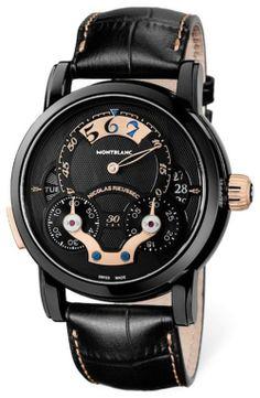 Montblanc Only Watch Nicolas Rieussec Rising Hours // Movimiento: mecánico automático / Calibre: MB R220 de manufactura / Funciones: minutos...