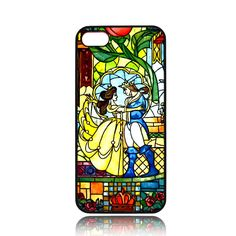 Prince Beast and Belle Stained Glass Cover iPhone by GayaShopCase