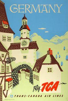 J. Flaguais / TCA - Germany / ca. 1955