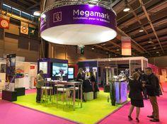 """#stand de #Megamark sur le salon #bureaux """"expo de  la division batiment de #megamark"""