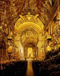 Igreja da Penitencia, Rio de Janeiro, by Caio Reisewitz