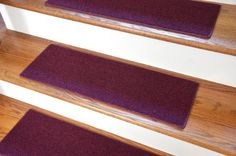 "Carpet Stair Treads 23"" x 8"" - Burgundy - Set of 13 - Double-Sided Tape Included Dean Flooring Company http://www.amazon.com/dp/B0037IUMSW/ref=cm_sw_r_pi_dp_kT2Fvb0WY6B7V"