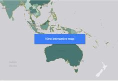 New Zealand's goods and services trade - world map