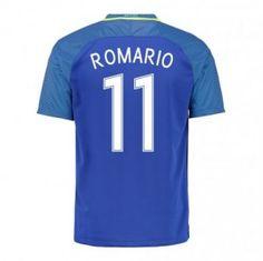 2016 Brazil National Team Romario 11 Away Soccer Jersey 2016 Brazil  National Team Romario 11 Away Soccer jerseys f5cd83869