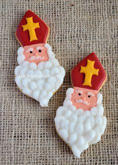 Sinterklaas en zwarte piet koekjes - Laura's Bakery